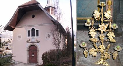 St-Donat des Plagnes et un chandelier (A. Tobé©)