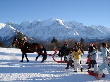 Un Noël à Plaine-Joux, F. Tobé ©