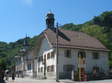 L'école de Chedde-le-Haut, A. Tobé ©