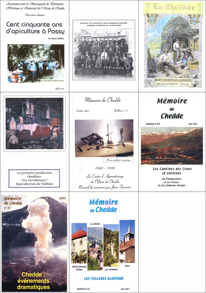Mémoire de Chedde Brochures