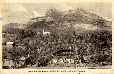 Le coteau de Passy au début du XXe s., L. Morand ©