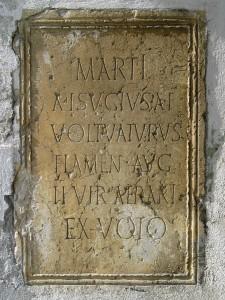 Un des ex-voto romain dédié à Mars, A. Tobé©