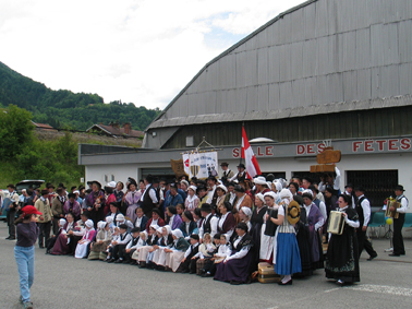 Un rassemblement folklorique, A. Tob  2008