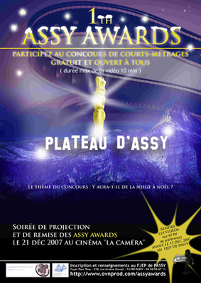 Laffiche du 1er Assy Awards (2007)