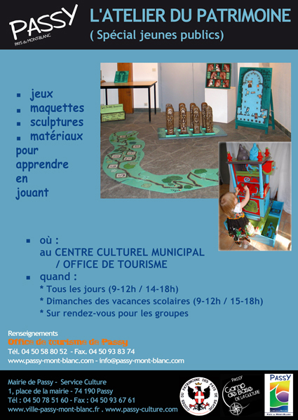 ATELIER DU PATRIMOINE AFFICHETTE